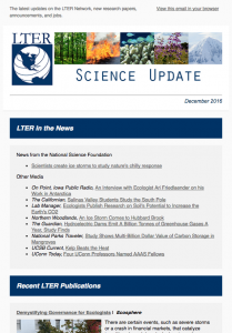 science update, December 2016